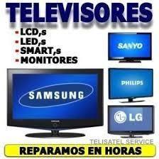 reparacion de televisores.led,smart,led,lg,samsung,garantia.