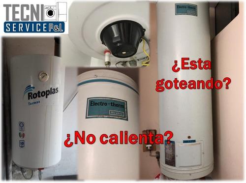 reparación de termas electricas/gas sole/bosch/junkers