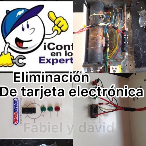 reparación de termotronic. cbx. power line . y titan