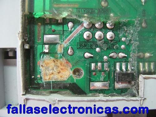 reparación de todo tipo de tarjetas electrónica de lavadoras