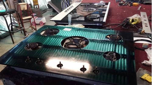 reparación de topes de vidrio para cocinas de gas