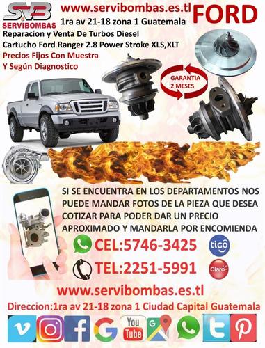 reparación de turbo diesel  ford transit 2.2 tdci 153cv/ gt