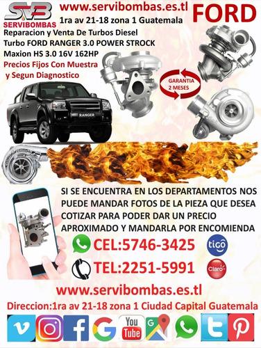 reparación  de turbo ford ranger 2.5 wl85 diesel guatemala