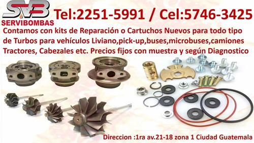 reparación de turbo foton cummins isf 2.8,3.8 guatemala