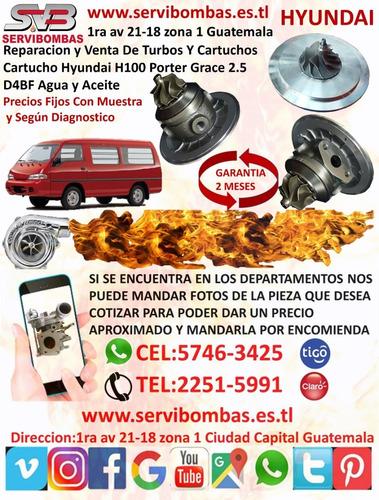 reparación de turbo hyundai county 3.9 d4dd,d4da hd72,hd78,