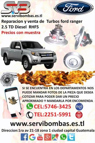 reparacion de turbo isuzu rodeo 2.8 td diesel 4jb1t guatema