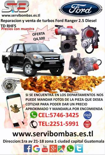 reparación de turbos diesel hyundai h100 porter grace 2.5 gt