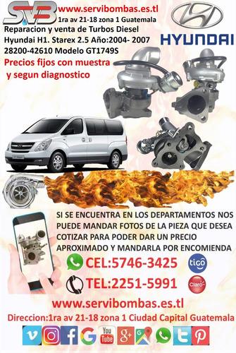 reparacion de turbos foton isf 2.8,3.8 diesel guatemala