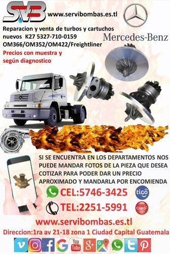 reparacion de turbos hino diesel  fb j08 gt3576 diesel