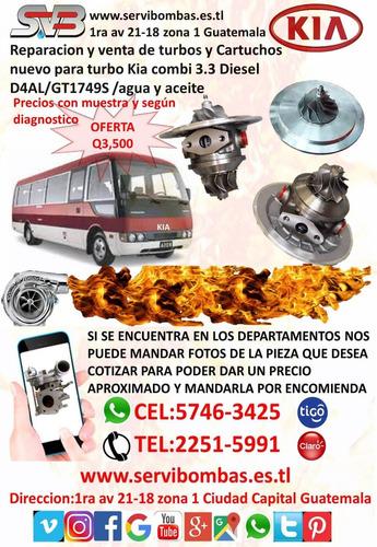 reparacion de turbos hyundai starex 2.5l crdi,d4cb guatemala