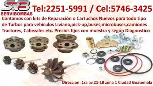 reparacion de turbos kia guatemala