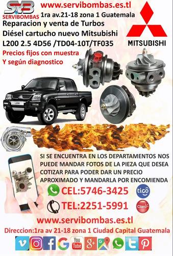 reparación de turbos mitsubishi l200 2.5 pick up guatemala