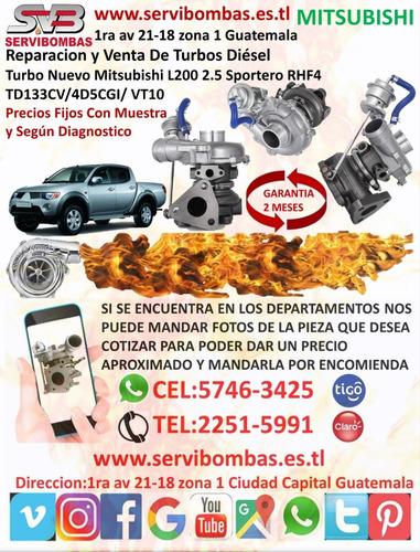 reparación de turbos mitsubishi montero l200 nativa 2.8 4m40