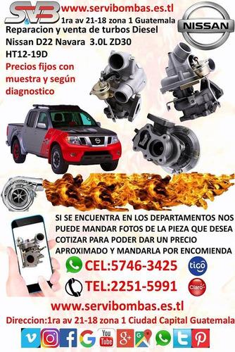 reparacion de turbos nissan navara,patrol,frontier guatemala