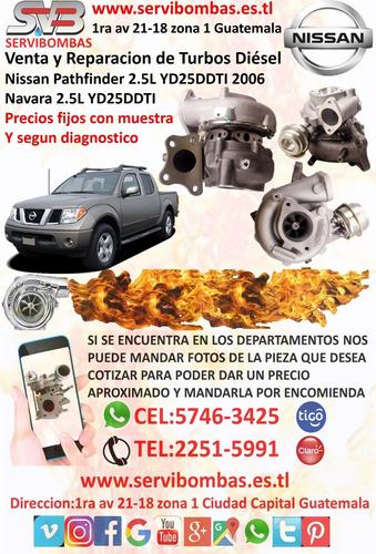 reparación de turbos nissan ud guatemala