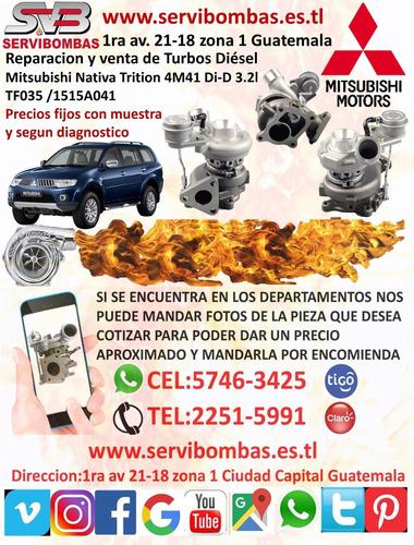 reparación de turbos pick up mitsubishi l200 sportero 2.5