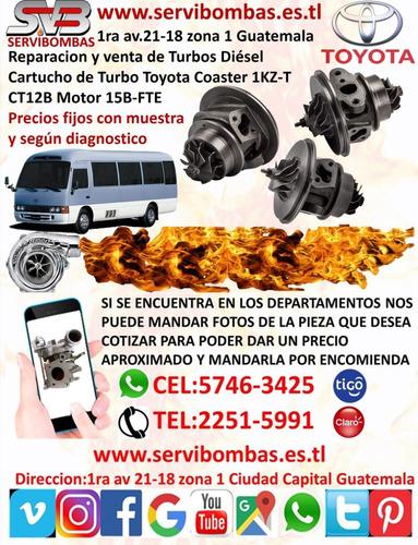 reparación de turbos toyota 4runner 3.0l d 1kz-t ct12b