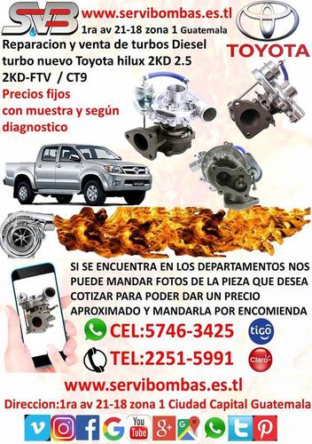 reparacion de turbos toyota hiace 2kd 2.5 guatemala