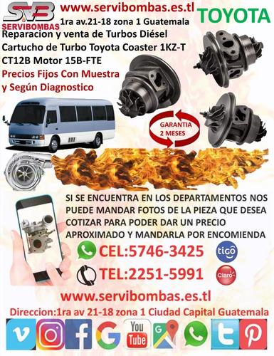 reparacion de turbos toyota hilux 3.0 d-4d 1kd guatemala