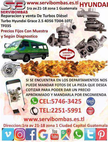 reparación  de turbos y cartuchos hyundai terracan 2.5 d4bh