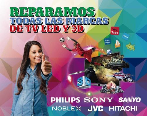 reparacion de tv lg sin imagen 47la6200/47ln5700/42lb5600