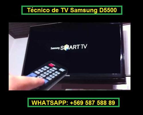 reparación de tv samsung 40d5500 y 32d5500 - reinicio