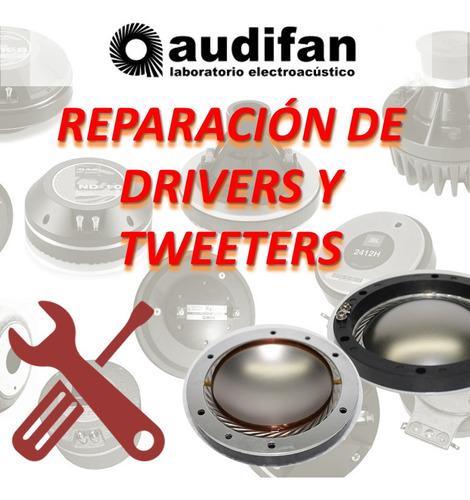 reparación de tweeters y drivers profesionales reparos