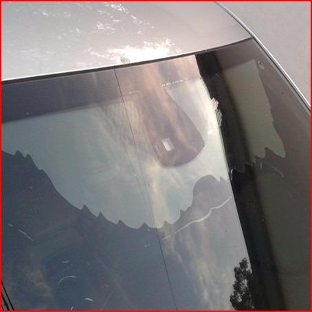 reparación de vidrios blindados deslaminados