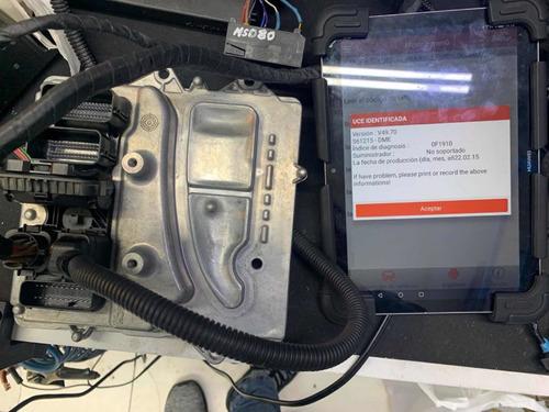 reparación dme bmw n55. reparación problemas valvetronic.