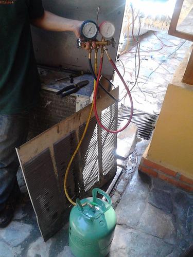 reparación e instalacion de aires acondicionados