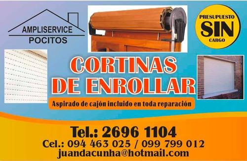 reparacion e instalacion de cortina de enrrollar