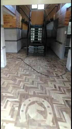 reparación e instalación de pisos de parquet machihembrados