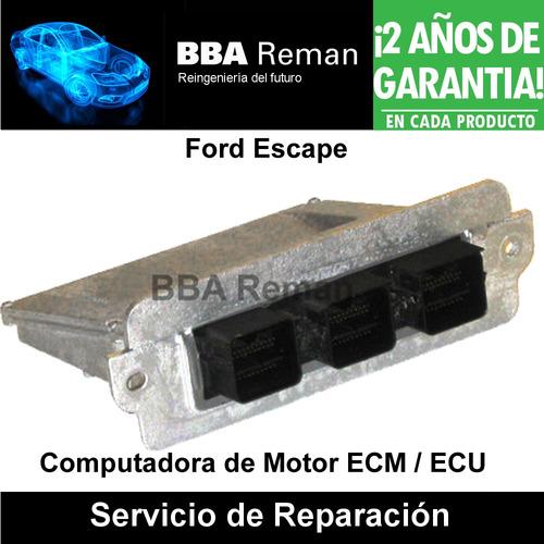 Reparación Ecm Ecu Pcm Ford Escape Mazda Tribute 2005