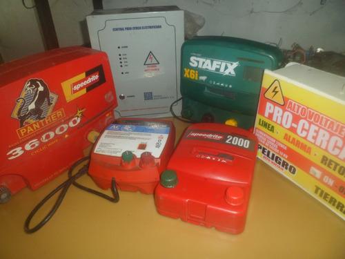 reparación energizador cerco electrico