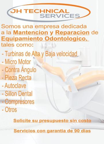 reparación equipos odontologicos