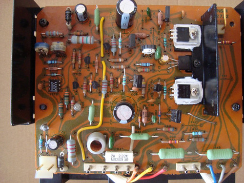 reparación equipos sonido vintage: sansui, mcintosh, denon