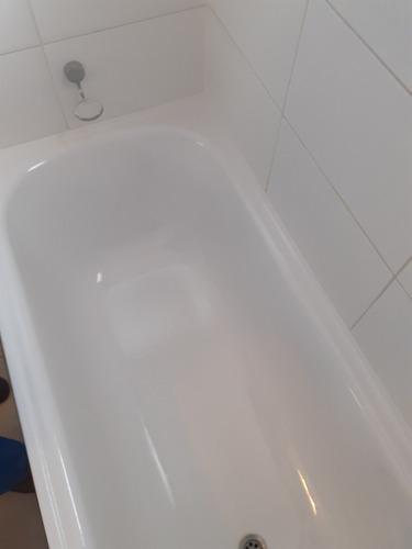 reparacion esmaltados de tinas de baños a domicilios