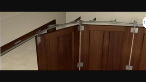 reparacion especializada de portones curvos corredizos