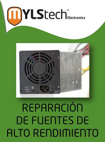 reparación fuentes bitmain evga hp thermaltek minería
