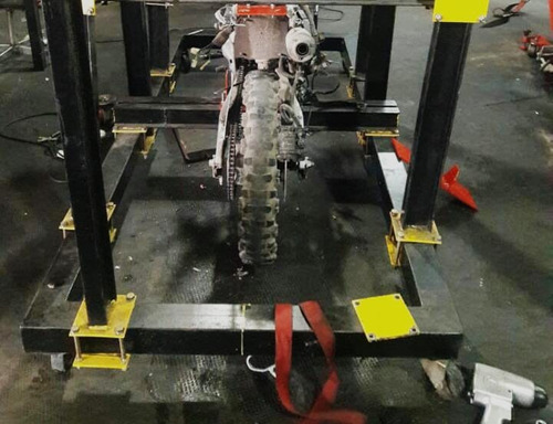 reparacion general de cuadros de motos chocadas
