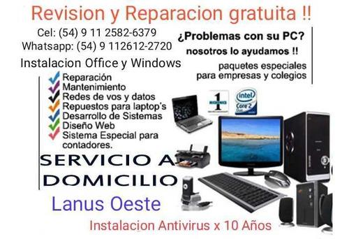 reparacion gratis con la compra de licencia y antivirus