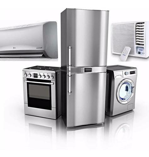 reparación heladeras, aire acondicionado calefactores termos