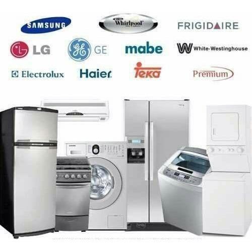 reparación heladeras lavarropas secarropas vitrinas aire ac.