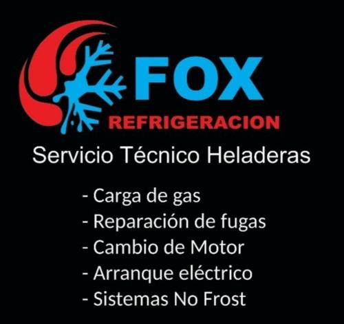 reparación heladeras service carga gas tecnico a domicilio