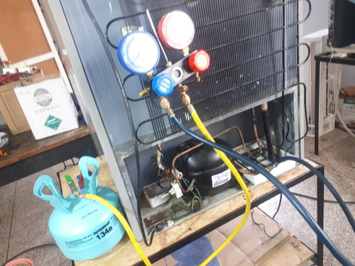 reparación heladeras servicio técnico en taller o domicilio