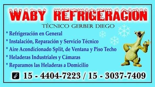 reparación heladeras y equipos de aire acondicionado
