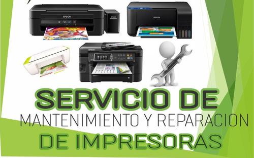 reparación impresoras. servicio
