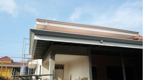 reparación, instalación de techos, canoas, botaguas y más,