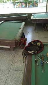 reparacion instalación mantenimiento de mesas de pool a nive