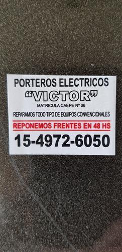reparación, instalación y abono porteros eléctricos víctor